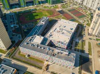 Школа в составе жилого комплекса